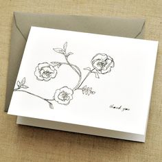 Thank You cards  (Set of 5)