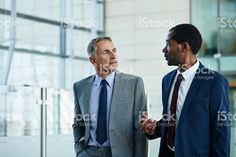 Exchanging ideas on the way to work royalty-free stock photo