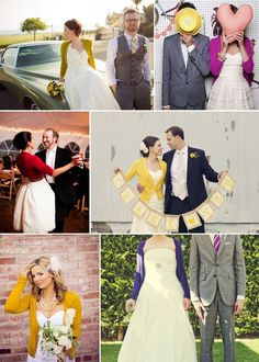 Brides in Cardigans - i love this idea especially for out door weddings and receptions!