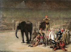 Είσοδος των κλόουν (1881)
