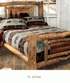 Create a room that makes you feel like you are staying at your favorite cabin site, or getting away from the hustle and bustle of the busy city....