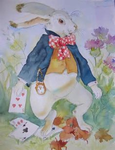 White Rabbit , remembering my friend Alice Bee