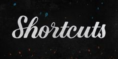Save Time in Photoshop With Custom Keyboard Shortcuts So You Have More Time for Hand Lettering
