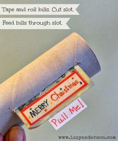 Write Snap Scrap: Money Hidden In Toilet Roll: Creative Ways To Give