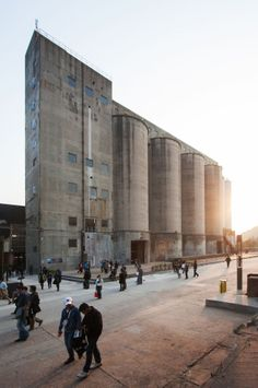 Architects are reusing industrial silos for everything from studio space to museums.