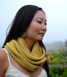 Thread & Ladle: Straw Cowl {Knitting Pattern}