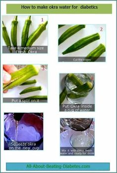 Diabetes mellitus is classed into two different types. Type one diabetes happens when the body does not produce the insulin necessary to metabolize sugars. Type two diabetes is where the body has become resistant to insulin and does not use the hormone. How To Make Okra, Okra Health Benefits, Okra Water, Types Of Diabetes, Gestational Diabetes, Diabetes Diet, Okra For Diabetes, Medicinal Plants, Health And Wellness