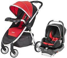 RECARO Performance Denali Coupe Travel System2015Scarlet * To view further for this item, visit the image link.
