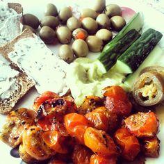 mediterranean picky nibbly food