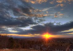 The Rays Lift Over The Valley | Flickr - Photo Sharing!