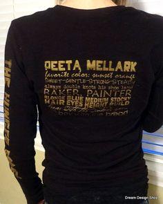 The Hunger Games Shirt Peeta Mellark the boy by DreamDesignShop, $22.00.  I WANT THIS!!!