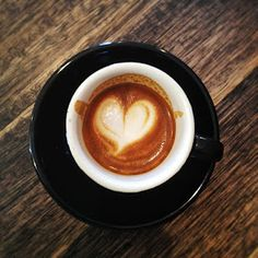 Is there anything better than your first cup of coffee in the morning? ........ PRETTY HEART <3
