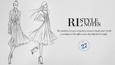 RL Style Notes No. 27: The sundress is a go-everywhere summer staple; pair it with a cardigan in the office and a sky-high heel at night