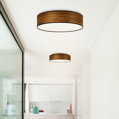 Ø40 Tsuri Ceiling Lamp - walnut - by Sotto Luce #MONOQI