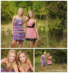 best friends - senior portraits by heather morrow