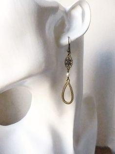 boucles d 39 oreilles ann es folles dor es seance ann e 20 pinterest bijoux. Black Bedroom Furniture Sets. Home Design Ideas