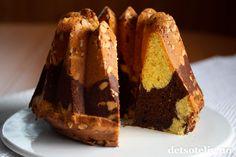 Marmorkake med kaffe og mandler | Det søte liv