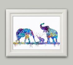 30% OFF Family Elephants Watercolor Print Family Elephants Wall Art Elephants Print Nursery Art Elephant Home Decor Animal Lover Gifts Gift Art #animals #elephants #family #babyroom #art #nurserydecor #artprintgifts #artprint #homedecor #wallart #walldecor #onsale #giftideas #gift #etsy #elephantart #giftideas #kidsroomdecor #watercolorpainting #watercolorprint #blueprint