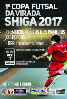 1ª Copa Futsal da virada Shiga 2017
