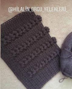 Crochet Stitches Patterns, Baby Knitting Patterns, Stitch Patterns, Easy Crochet, Crochet Lace, Crochet Hooks, Knitting Videos, Beautiful Crochet, Crochet Clothes