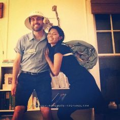 Cute Snail-Mail Couple Costume... Coolest Halloween Costume Contest