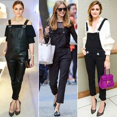 Olivia Palermo's 3-Step Way to Glam Up Overalls | The Zoe Report