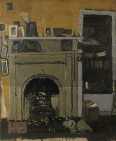 The Fireplace c.1955 by Joan Eardley (British 1921–1963)