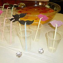 FUN DYI Lips & Mustaches For Straws... - Project Wedding