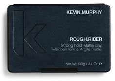 KEVIN.MURPHY ROUGH.RIDER is a strong hold, matte clay that will create a volume and definition.