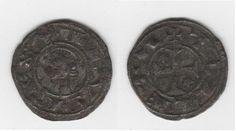 Dinero de Alfonso I o Alfonso VIII (Toledo)