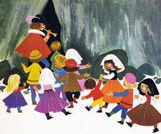'The Pied Piper of Hamelin' by Felicitas Kuhn [Junior International] | Flickr - Photo Sharing!