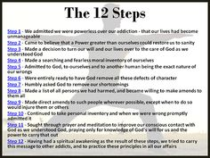 Printables 12 Steps Of Recovery Worksheets study step guide and worksheets on pinterest