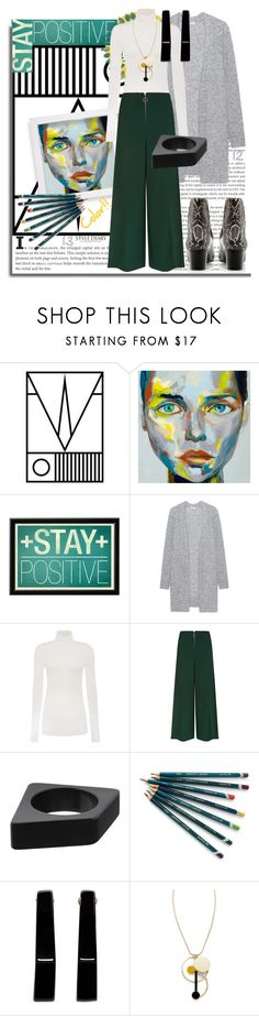 """Stay positive"" by rinagern ❤ liked on Polyvore featuring Acne Studios, GANT, Topshop, Marni and Isabel Marant"