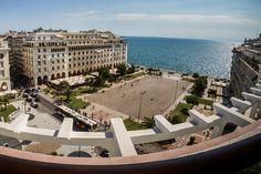 TRAVEL'IN GREECE I Aristotelous square, #Thessaloniki, #travelingreece