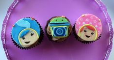 Team Umizoomi Cupcake Toppers on Etsy