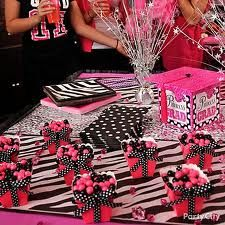 Cute party favor boxes plus loving the hot pink and black with white poka dot theme