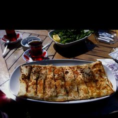 İzmir Patlican'da gozleme