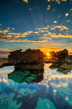 The Crags - Port Fairy, Victoria, Australia Wonderful Places In The World Places Around The World, Oh The Places You'll Go, Places To Travel, Places To Visit, Travel Destinations, Dream Vacations, Vacation Spots, Beautiful World, Beautiful Places
