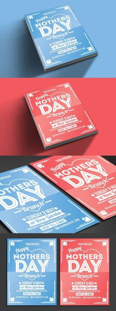 Explore over flyer design templates to design handouts, marketing collateral, posters, and postcards in vintage and modern styles. Flyer Design Templates, Flyer Template, May Garden, Mothers Day Poster, Mothers Day Brunch, Creative Flyers, Present Day, Promotion, Logo