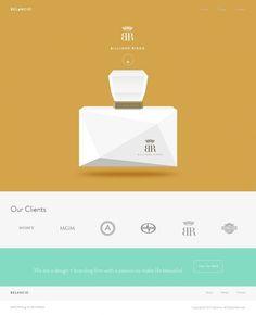 Belancio is a design and branding firm - We Make Life Beautiful - Webdesign inspiration www.niceoneilike.com