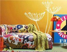 Amazon.com: Tanboo Dandelion Pattern PVC Wall Decals Sticker 130 x 50 cm: Home & Kitchen