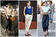 Loved all the boyfriend outfits in Begin Again. My new look for the spring. Most def.