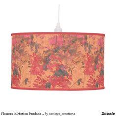 Flowers in Motion Pendant Lamp Pendant Lamp, Lamp Light, Table Lamp, Lighting, Flowers, Home Decor, Table Lamps, Decoration Home, Room Decor