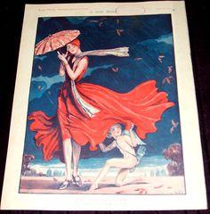 Georges Pavis (1886 – 1977). La Vie Parisienne, 18 Octobre 1930. [Pinned 10-viii-2015]