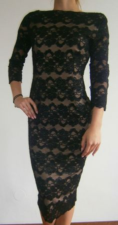 57,90 eur Dresses With Sleeves, Formal Dresses, Long Sleeve, Fashion, Gowns, Dresses For Formal, Moda, Sleeve Dresses, Formal Gowns