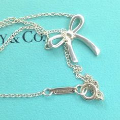 Collana Bow Tiffany