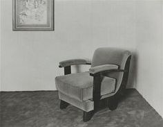 Artwork page for 'Interior, Cologne Werner Mantz, printed 1977 Cologne, Recliner, Armchair, Prints, Inspiration, Furniture, Home Decor, Spaces, Image