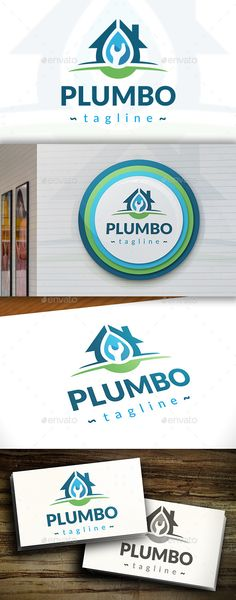 Plumber Logo Template #design #logotype Download: http://graphicriver.net/item/plumber-logo/11427037?ref=ksioks