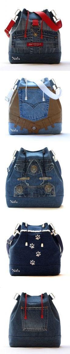 Nielia - bolsas de los pantalones vaqueros (part4) Alteración / jeans / segunda calle
