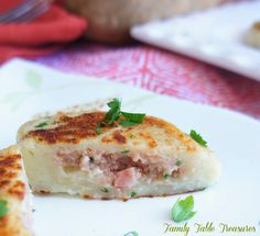 {Kielbasa Filled} Potato Dumplings - Family Table Treasures